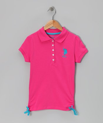 Pink & Blue USPA Polo