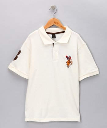 Off-White '3' Polo - Boys