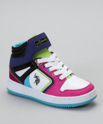 White Tamikah Hi-Top Sneakers