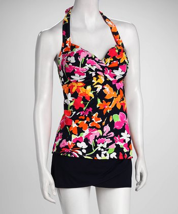 Anne Cole Floral Bouquet Tankini