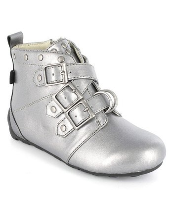 Pewter Kyraa Ankle Boot