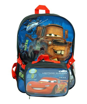 Cars Backpack & Mater Utility Tote