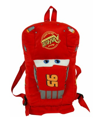 Cars Plush Backpack