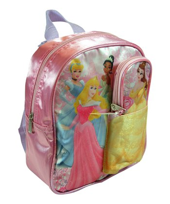 Pink Princess Mini Pouch Backpack