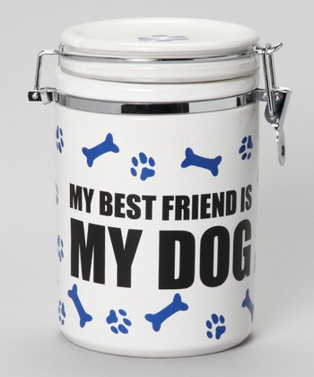 'My Best Friend is My Dog' Treat Jar