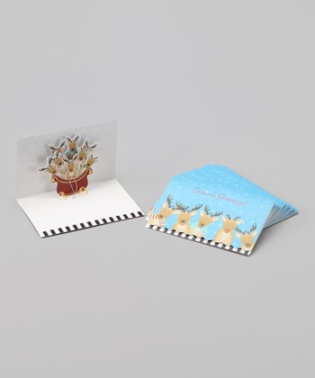 Reindeer Pop-Up Card Set
