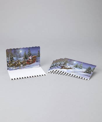Through the Woods Pop-Up Notecard Set