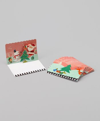Tree Trimming Pop-Up Card Set