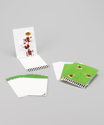 Tier of Santa Pop-Up Card Set