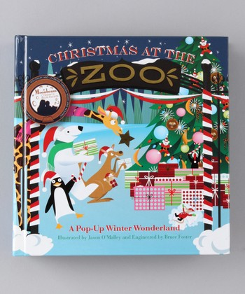 Christmas at the Zoo Pop-Up Hardcover