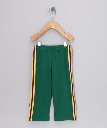 Kelly Green Track Pants - Infant