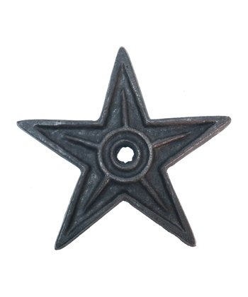 Large Cast Iron Star
