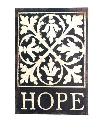 'Hope' Ornate Wall Art