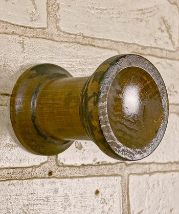 Black Distressed Knob