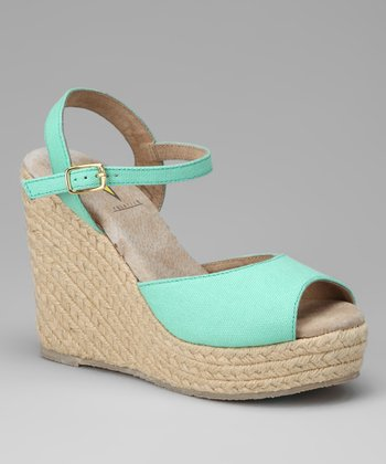 Green Electric Espadrille