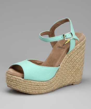 Light Green Electric Espadrille