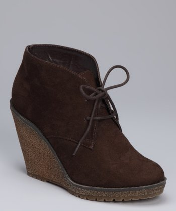 Brown Mae Wedge