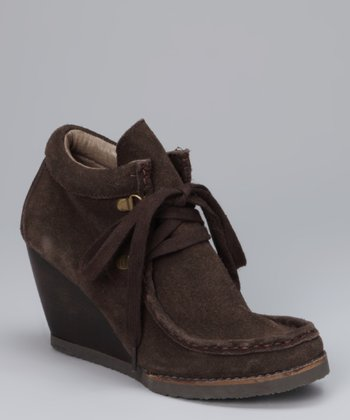 Brown Moby Wedge