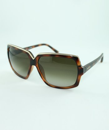 Dark Havana Square Sunglasses