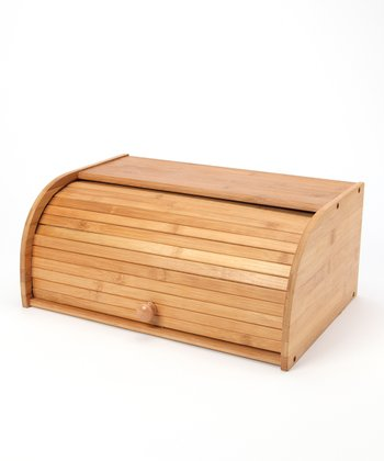 Bamboo Deluxe Bread Box