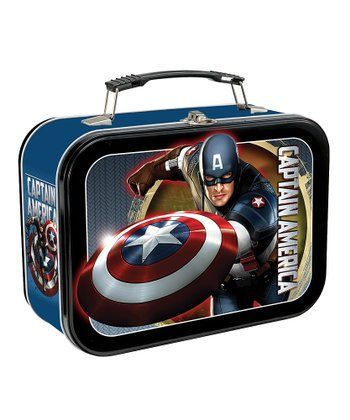 'Captain America' Lunch Box