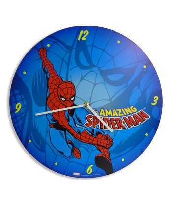 Spider-Man Clock