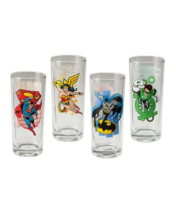 DC Heroes 10-Oz. Glass Set