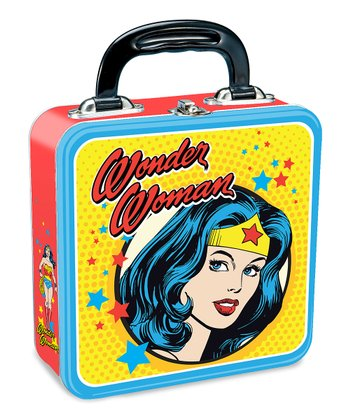 Yellow Wonder Woman Square Lunchbox
