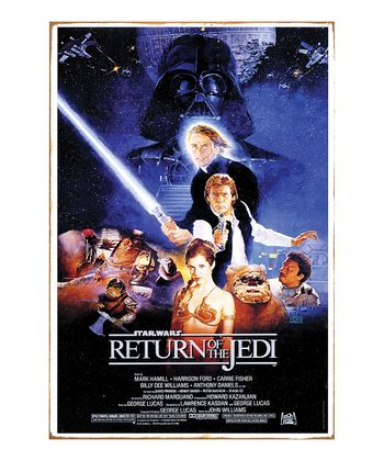 Return of the Jedi Metal Sign
