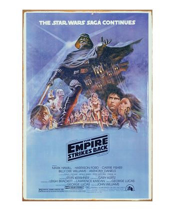 'The Empire Strikes Back' Metal Sign