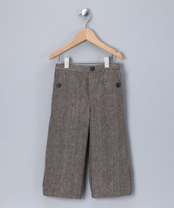 Chocolate Tweed Pants - Infant & Boys