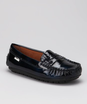 Venettini Navy Patent Savor Loafer