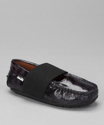 Blue Brush Patent Lily Loafer