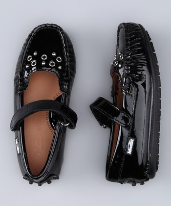 Venettini Black Patent Princess Mary Jane
