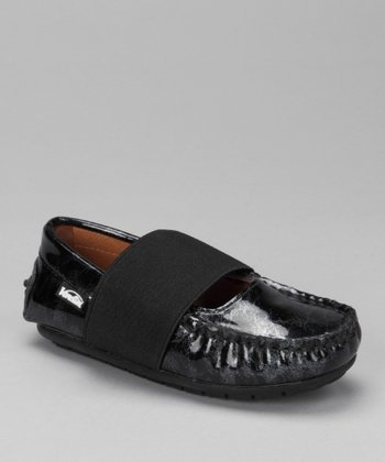 Black Marble Patent Lily Loafer