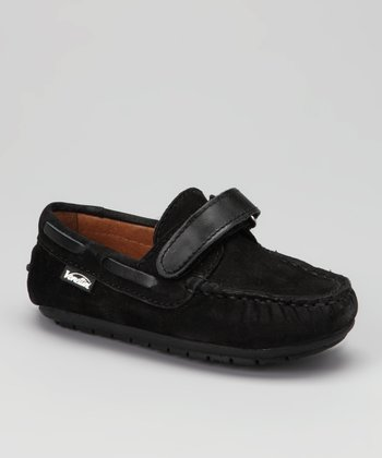 Venettini Black Nabuk Samy Moccasin