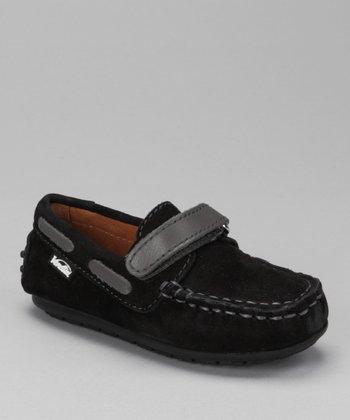 Black Nabuk & Gray Samy Moccasin