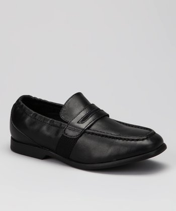 Black Frank Loafer