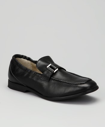 Black Pilgrim Frank Loafer