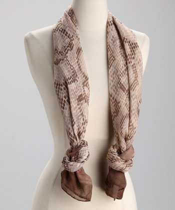 Tan Main Squeeze Scarf