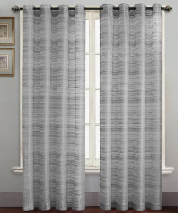 Gray Bryce Curtain Panel