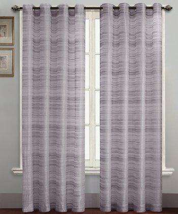 Lavender Bryce Curtain Panel