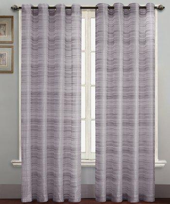 Lavender Bryce Curtain Panel
