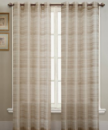 Natural Bryce Curtain Panel