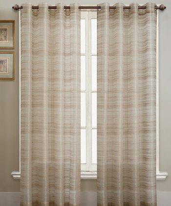 Natural Bryce Curtain Panel