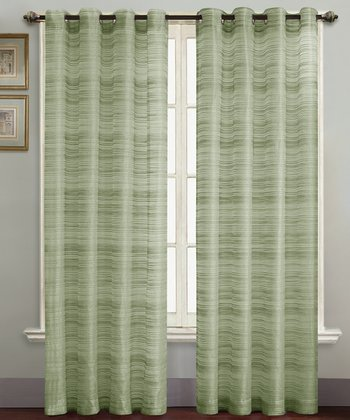 Sage Bryce Curtain Panel