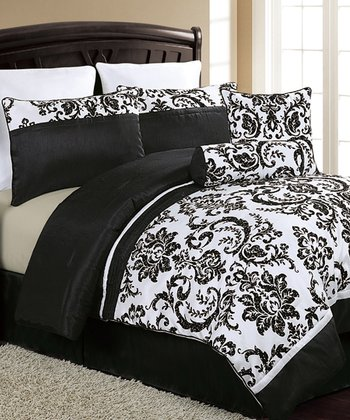 Black & White Daniella Comforter Set