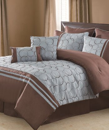 Blue Daylan Comforter Set
