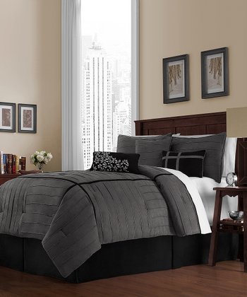 Black & White Ellington Comforter Set