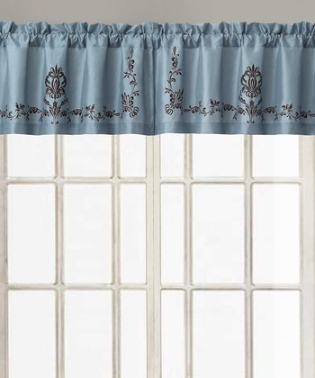 Blue Garwood Valance